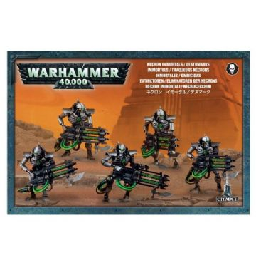 Games Workshop Warhammer 40000 40K Necron Immortals / Deathmarks 49-10